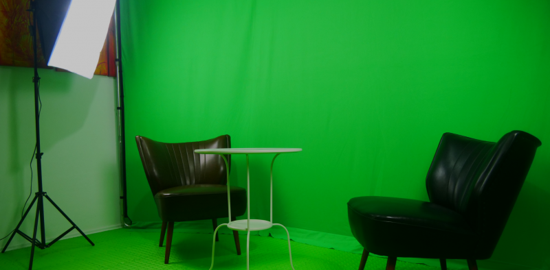 boq - GreenScreen-Raum3